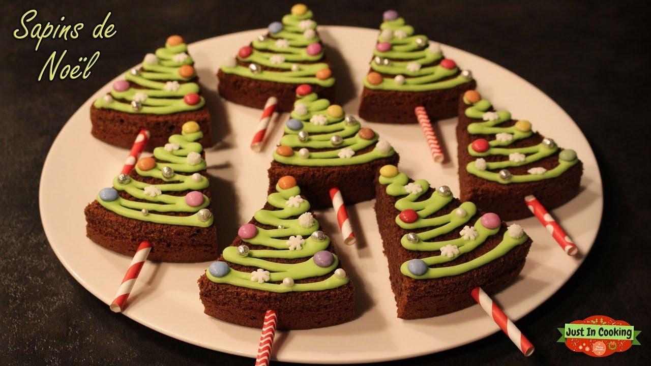 ❅ Recette des Sapins de Noël au Chocolat ❅   YouTube