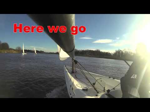 Rs aero7 v two lasers on fast flowing river
