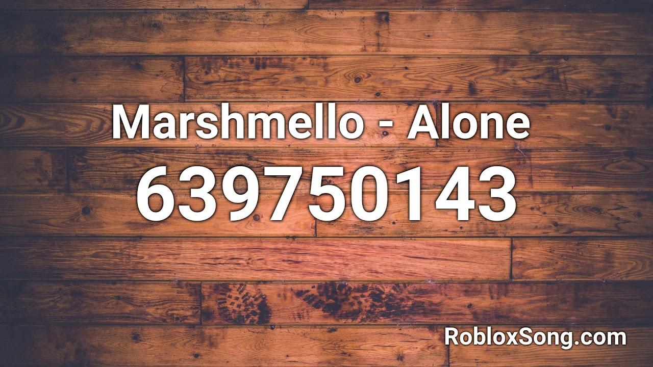 alone roblox id code