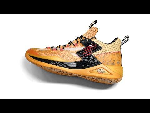 A First Unbox Video At  Minions X 361 Degrees BIG3 Qu!kfoam  Basketball Shoes
