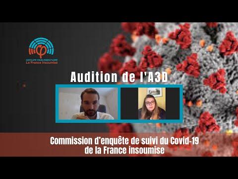 Commission d'enquête de la France insoumise sur le COVID19 - Association A3D