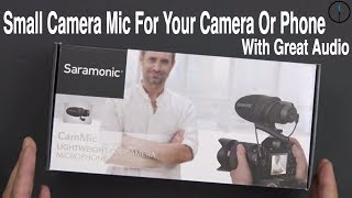 Saramonic CamMic On-Camera Microphone Review (Is it The Best Shotgun Mic For Your Setup???)