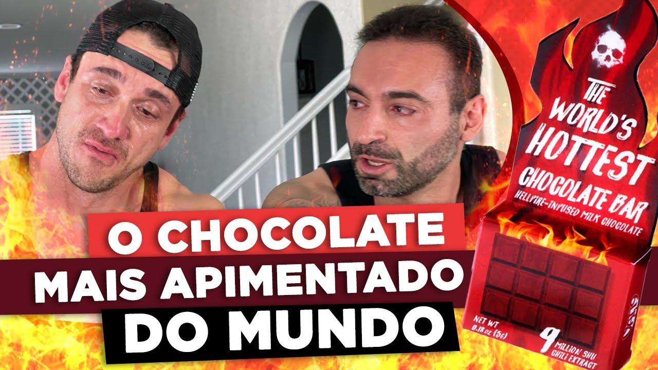 O CHOCOLATE MAIS APIMENTADO DO MUNDO!!! (Feat. Coach Rubens & Will Jardim)