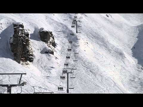 Treble Cone Ski Resort Wanaka New Zealand (August 2013)