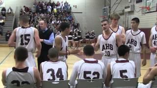 Arlington versus Lexington High School Basketball 2013