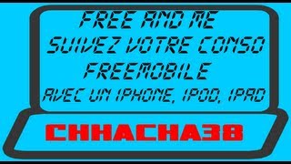 Free&Me : Suivez votre conso FreeMobile depuis votre SmartPhone