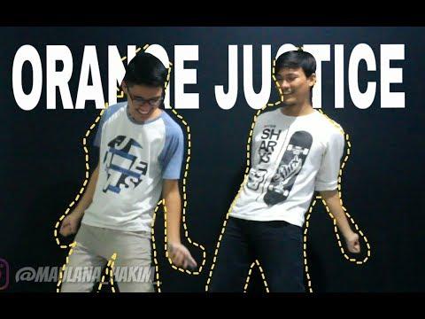 TUTORIAL ORANGE JUSTICE DANCE - JOGET ANTI KANKER, AUTO BISA