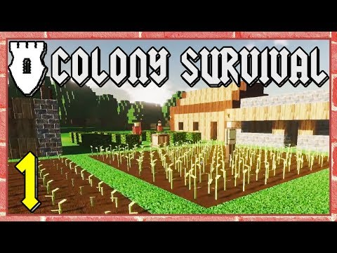 Colony Survival - #1 - Breaking Ground