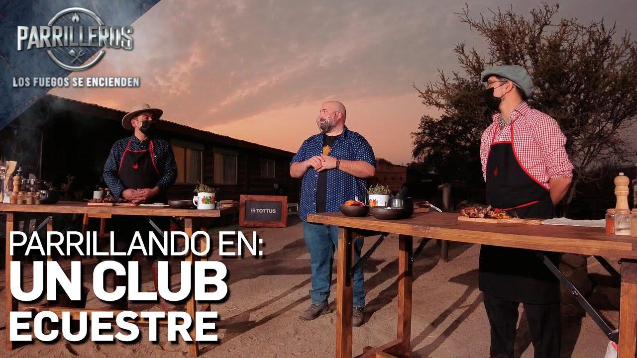 Parrilleros Chile   Episodio 2 Parrillando en un Club Ecuestre