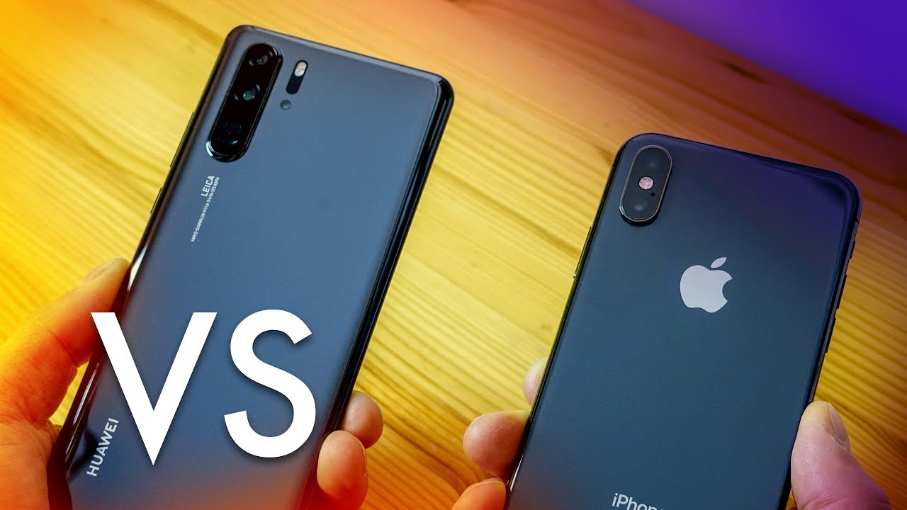 Huawei P30 vs  iPhone XS — From the Android Expert