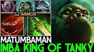Matumbaman [Pudge] King of Tanky Full Armor Build 6000 HP WTF …