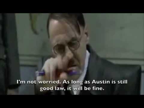 Hitler Reacts to Citizens United v. FEC