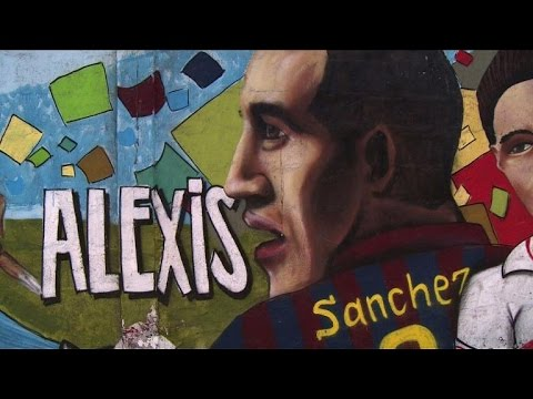 Inside the hometown of Chile's football star Alexis Sanchez