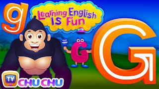 "Learning English Is Fun™ | Alphabet ""G"" 
