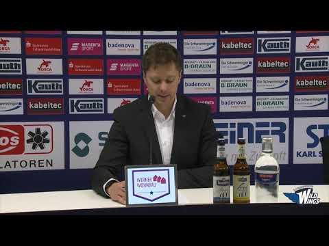 Pressekonferenz: Schwenninger Wild Wings-Thomas Sabo Ice Tigers