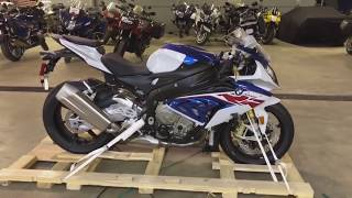 2018 Bmw S1000rr delivery & unboxing first one in Michigan