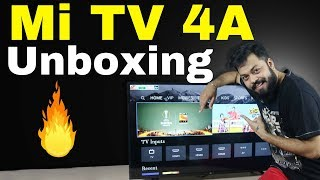 Xiaomi Mi TV 4A UNBOXING & FIRST IMPRESSION | Patchwall (Part 1)