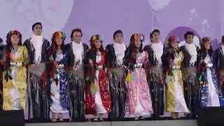 土耳其Hacettepe University Children & Youth Folk Dance Group:Halay from Urfa & Bitlis City
