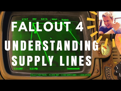 Fallout 4 - Supply Lines Made Simple (AKA Trade Routes)