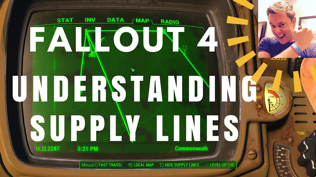 Starting Trade Routes In Fallout 4