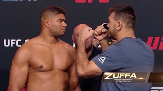 UFC Вегас 9: Битвы взглядов