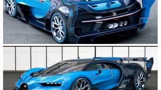 Moteur d'une Bugatti Bugatti chiron super sport