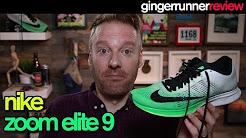 NIKE ZOOM ELITE 9 REVIEW | The Ginger Runner