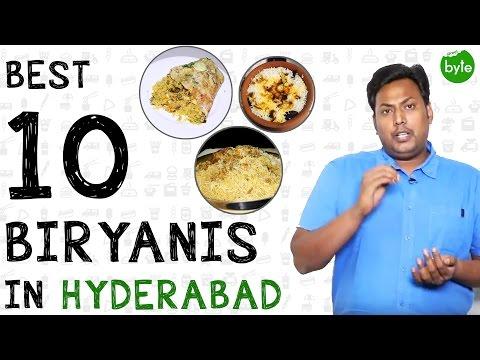Best 10 Biryanis in Hyderabad which is not Hyderabadi | Best IndianFood|Biryani/Pulao in Hyderabadi