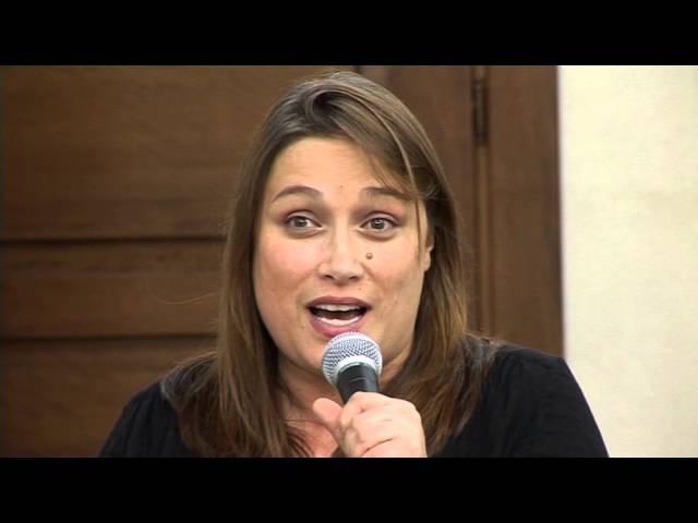 Gambatesa 17-08-2015: convegno cardioparty - Intervento Giovanna Campioni