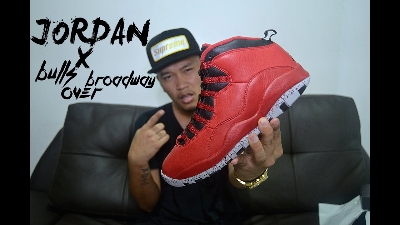 3e760c1efcc10a Air Jordan 10 Bulls Over Broadway Review + On Feet - YouTube