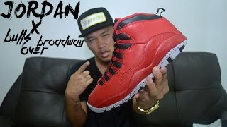 Air Jordan 10 Bulls Over Broadway Review + On Feet