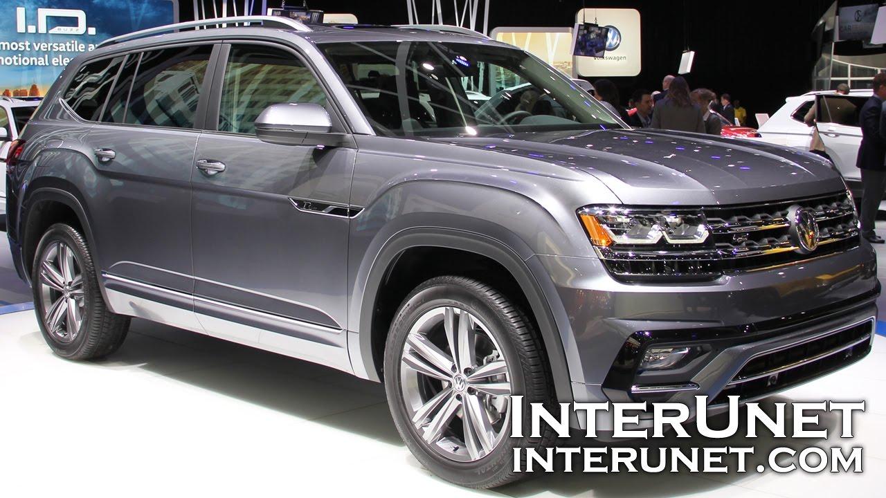 2018 Volkswagen Atlas R Line New 7 Penger Suv