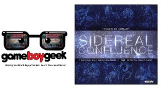 Sidereal Confluence Review with the Game Boy Geek