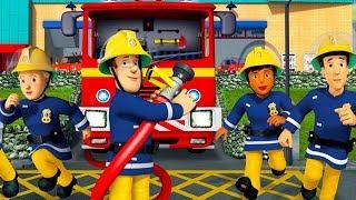 Fireman Sam US New Episodes | Fireman Sam's Team Against the Fire! 🚒 🔥 Cartoons for Children