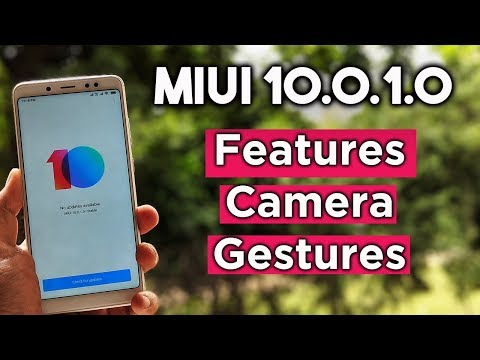 MIUI 10 Stable 10.0.1.0 UPDATE Released For Redmi Note 5 Pro
