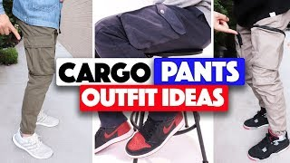 HOW TO STYLE: Cargo Pants (Outfit Ideas)
