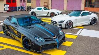 WIDEBODY-MONSTER: Fab Design veredelt Mercedes SLR, SLS und AMG GTS! - AUTO BILD SPORTSCARS