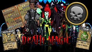 Wizard101 Max Death Champion (Level 125) PvP Gear and Deck Set Up