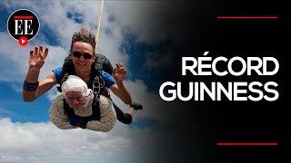 La paracaidista más anciana del mundo | El Espectador