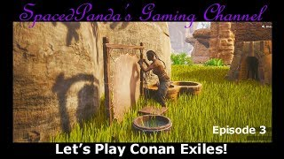 Fishy moments and new thralls! - Conan Exiles - E3