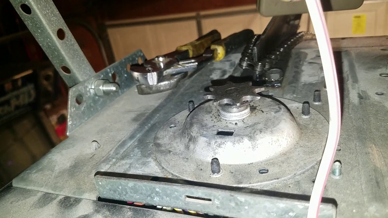 Sears Craftsman 1 2 Hp Garage Door Opener Problem Hbw0777 1395364812 Youtube
