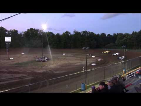 Butler Motor Speedway UMP Modified Heat #1 9/10/16