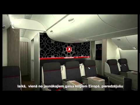 Turkish Airlines, бизнес-класс