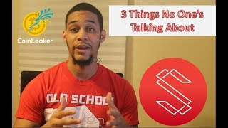 Substratum - 3 Things No One Is Talking About