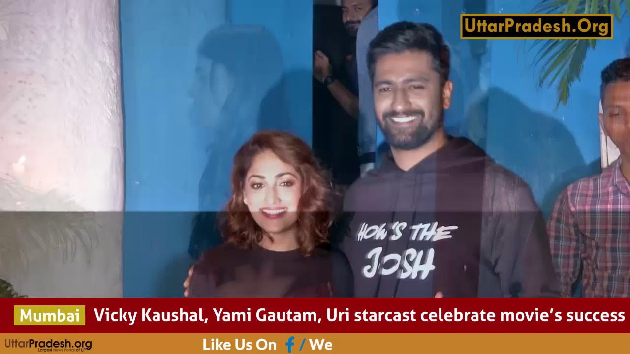 Success Party Of Uri Movie With Full Cast Youtube
