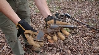 Metal Detecting - The Single Action Army BB Revolver!