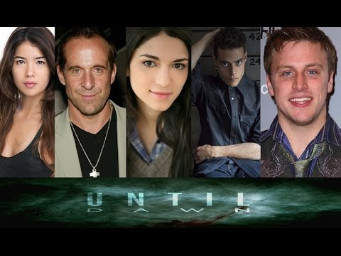 Until Dawn Voice Actors in Real life & Behind The Scenes