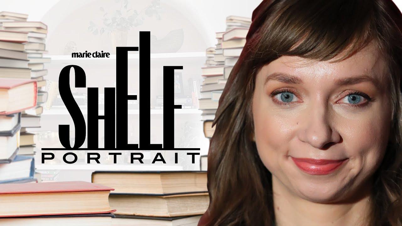Lauren Lapkus' Bookshelf Tour: Oprah, Nicole Byer & More | Shelf Portrait | Marie Claire