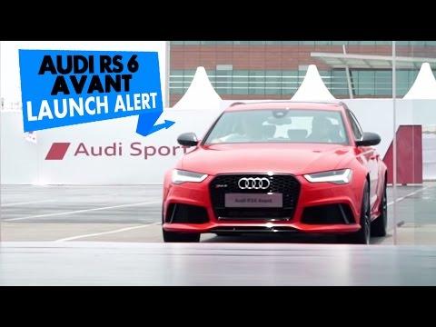 2015 Audi RS6 Avant | Launch Alert | PowerDrift