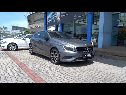 2013 Mercedes-Benz A 200 Start-Up and Full Vehicle Tour